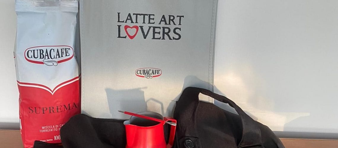 Kit Latte Art per il vincitore